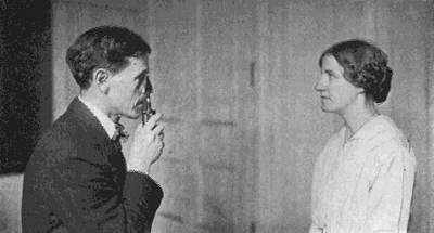 William H. Bates Treating a Patient