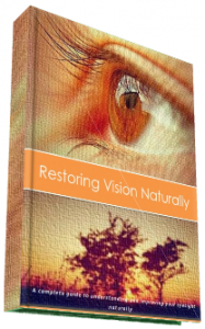 Restore My Vision Today eBook
