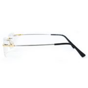 Agstum Rimless Gold Frame side