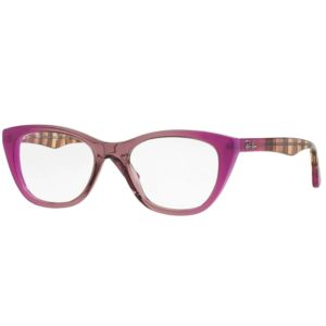Ray-Ban 0RX5322 eyeglasses gradient on pink
