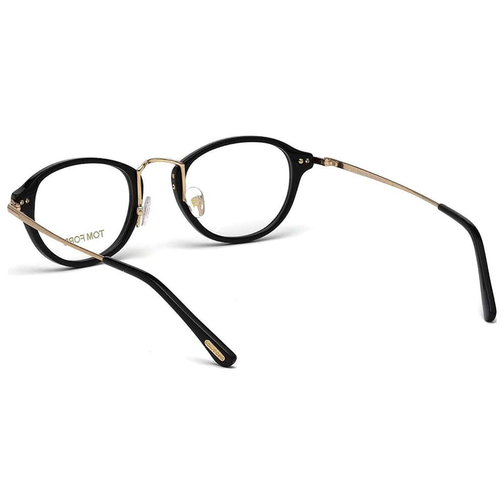 Tom Ford Eyeglasses TF 5321 - Black and Light Gold ...