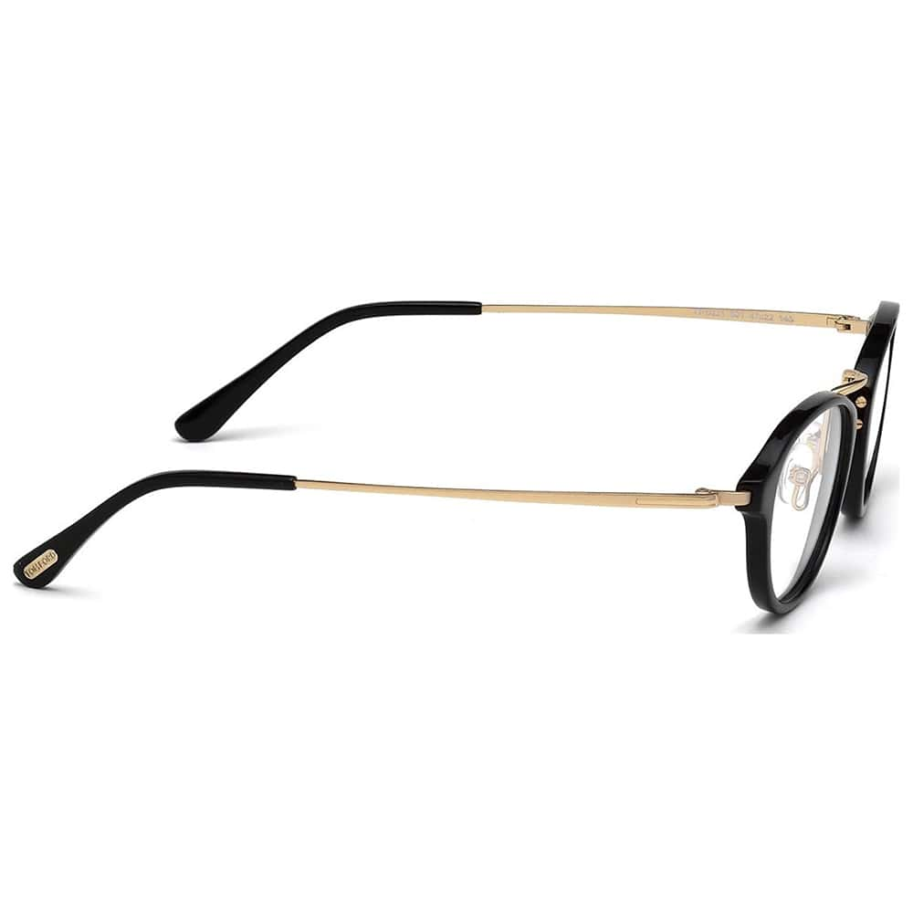 c9683419004 47mm Tom Ford ft5321 Tom Ford black and gold frame Tom Ford Eyeglasses TF  5321